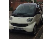 SMART CAR CITY-COUPE 2002 IMMACULATE MOT TILL MAY 2018 600cc only £825