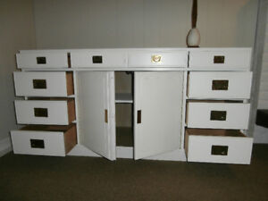 Credenza Sideboard Storage,TV stand,drawers, shelves.Nat.Mt Airy