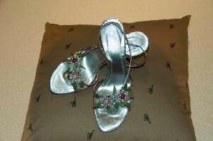 Designer Rene Caovilla shoes size 38 1/2