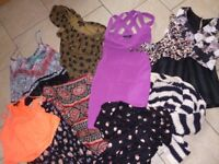 Bundle of womens current/trendy size 6/8 clothes