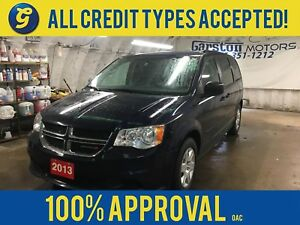 2013 Dodge Grand Caravan SXT*REAR DVD PLAYER w/HEADPHONES/REMOTE