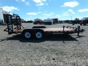 New Canada Trailer CE718-14K Equipment Trailer