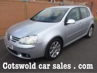 05-54 Volkswagen Golf gt s 2.0 tdi 140bhp 50000 miles1 owner fsh 6 speed Manual!