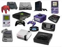 WANTED old and new games console