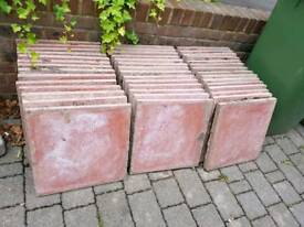 43 paving slabs for collection only.