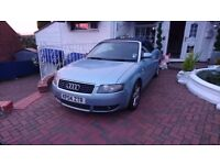 Audi A4 convertible for spares. Non runner cash only