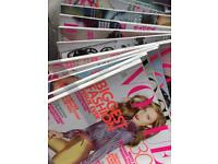 15 fashion magazines (past years vogue etc)for cutting and sticking for art students