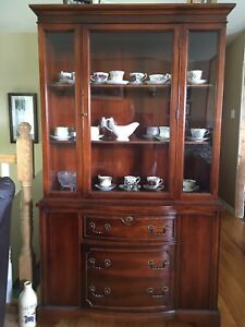 China Cabinet and cups