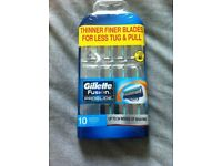 Gillette Fusion Proglide Manual 10 Blades