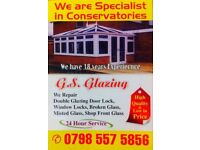 G.S glazing windows/ doors and all building work