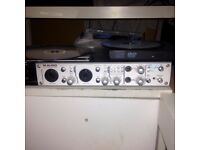 Maudio FireWire 410 audio & midi interface