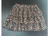 New Look Floral Skirt