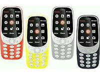 Nokia 3310 Brand new with warranty and accessories unlocked!