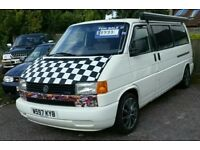 Top spec VW T4 2.5 TDi campervan with Fiamma awning, 12 months MOT & FSH