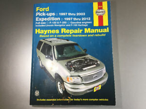 1997-2012 Ford F150 F250 Expedition Lincoln Navigator ShopManual