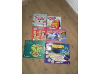 Bundle of board games Monkey Nuts Pictureka! Guess Who Magic Tooth Fairy-New Headbanz and Spirograph