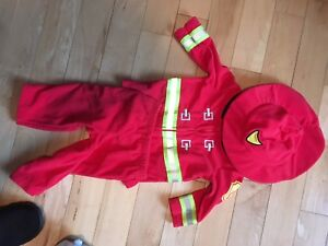 Habit de pompier consume d'halloween