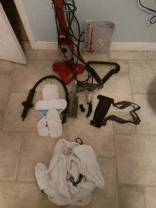 H20 mop and hand held steamer in 1