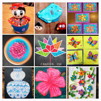 Summer Classes - Drawing, Painting, Sewing, Craft & Quilling