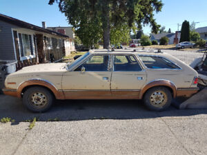 1985 AMC Eagle Wagon AWD Limited Deluxe Edition