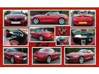 BMW Z4 2.0i SDrive 2011 - STUNNING RED
