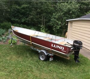 Lund 16' Big Lakes Boat, Motor and Trailer