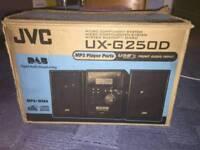 JVC-UX-G250 DAB CD RADIO MP3 STEREO SYSTEM