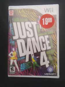 Just Dance 4 - Still in package.
