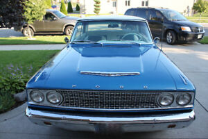 "Rare 1963 Fairlane 500 ""Sports Coupe"" model"