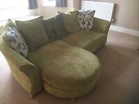 DFS sofa and armchair