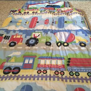 Comforter and pillow cover Olive kids  planes and automobiles