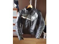 Motorcycle jacket- Dainese Leather M