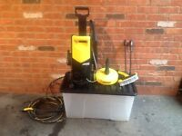 KARCHER HOME, CAR & PATIO PRESSURE WASHER KIT