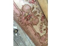 Axminster Carpet 6'x4' needs a clean - would look lovely in a lounge with antique furniture