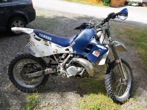 96 Yamaha WR250 2 stroke two stroke