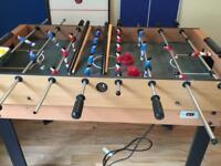 Games table pool air hockey football etc