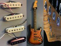 Original USA Stratocaster & USA Telecaster Pickups For Sale