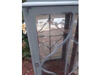 Shabby chic display cabinet Annie Sloan
