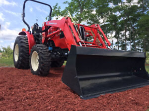 30HP 4x4 Branson with loader hydro or shuttle shift $281.00/M