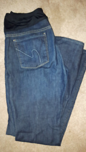 Citizens of Humanity Maternity Jeans - straight leg. Size 32