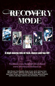 Recovery Mode Band For Hire - Weddings, Corporate Events & Clubs