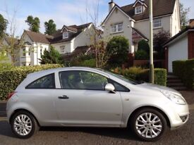 (2010) VAUXHALL CORSA 1.2 ACTIVE PLUS 3dr ONLY 35K MILES/FSH/ELECTRIC PANORAMIC GLASS ROOF/AC/ALLOYS