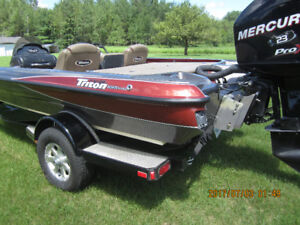 2009 Bass Boat with Trailer