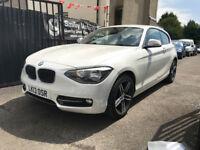 BMW 1 Series 114i White 1.6 Petrol Manual 3 Door Hatchback 2013 Stunning Car Lots Of Extras