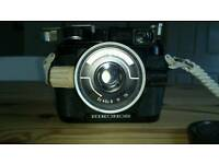 Nikonos 1 underwater camera, with extras