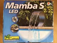 Mamba S-LED Stainless Steel Garden Waterfall