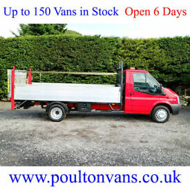 "2013 (63)FORD TRANSIT T350 EF DRW 13'6"" EXTRA LWB HIGH SIDED DROPSIDE,NOT TIPPER"