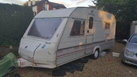 Sprite super 500 EB 4 berth touring caravan.