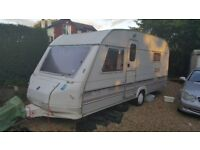 Sprite super 500 EB 4 berth touring caravan.