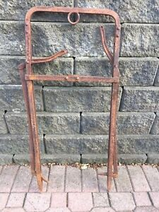 Antique hay fork